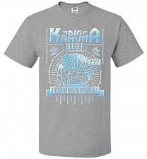Buy Big Kahuna Burger Adult Unisex T-Shirt Pop Culture Graphic Tee (5XL/Athletic Heather)