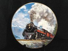Buy Train Collector Plate Ted Xaras Royal Hudson 2860 First Lady of Steam Vintage