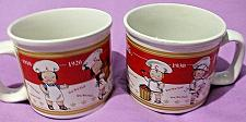 Buy 2 Houston Harvest 2001 Campbell's Dates Soup Mugs 1910 1920 1930 1940 EUC