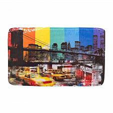 Buy *17395U - Brooklyn Bridge Floor Mat Polyester Polyurethane Memory Foam