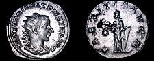 Buy 238-244AD Roman Imperial Gordian III AR-22 Antoninianus Coin - RIC-86 - Laetitia