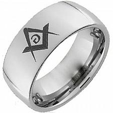 Buy coi Jewelry Tungsten Carbide Masonic Wedding Band Ring