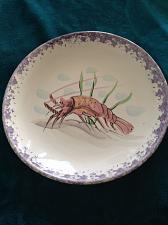 "Buy Stefano Di Camastra decorative ceramic hanging lobster platter 15"" Large Serving"