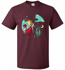 Buy Knight Of The Moonlight Unisex T-Shirt Pop Culture Graphic Tee (L/Maroon) Humor Funny