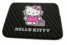 "Buy Laptop Case Notebook Hello Kitty 16"" Neoprene Sleeve Black Bling Handbag"