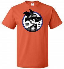 Buy Saiyan Quest Unisex T-Shirt Pop Culture Graphic Tee (6XL/Burnt Orange) Humor Funny Ne
