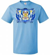 Buy Blue Ranger Unisex T-Shirt Pop Culture Graphic Tee (S/Aquatic Blue) Humor Funny Nerdy