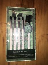 Buy Rare New Laura Ashley Complete 6-Piece Makeup Brush Kit (Makeup Brush Bag)!!!