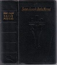 Buy SAINT JOSEPH DAILY MISSAL :: 1961 :: FREE Shipping