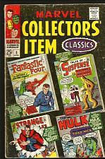 Buy MARVEL COLLECTOR'S ITEM CLASSICS #8 FF Dr. Strange DITKO Hulk Iron Man JackKIRBY