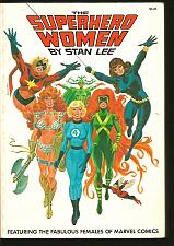 Buy The Superhero Women by STAN LEE Cadence Simon & Shuster Fireside 255 Pages 1977