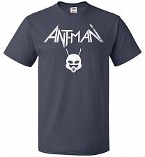 Buy Antman Anthrax Parody Unisex T-Shirt Pop Culture Graphic Tee (5XL/J Navy) Humor Funny