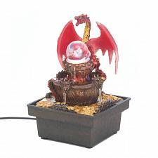 Buy *16895U - Red Dragon Tabletop Water Fountain