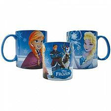 Buy :10273U - Disney Frozen Characters Blue 14oz Stoneware Mug