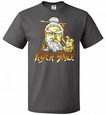 Buy Tiger Style Unisex T-Shirt Pop Culture Graphic Tee (M/Charcoal Grey) Humor Funny Nerd