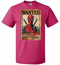 Buy Deadpool Wanted Poster Youth Unisex T-Shirt Pop Culture Graphic Tee (Youth XL/Cyber P