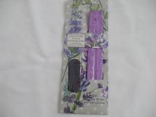 Buy Lavender Incense Sticks With Purple Wooden Ash Catcher Incense Holder 20 Sticks