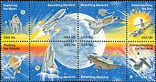 Buy 1981 18c Space Achievement, Block of 8 Scott 1912-19 Mint F/VF NH