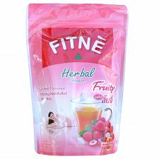 Buy Fitne Tea Herbal Lychee and Senna Slimming Diet Weight Loss 15 Teabags