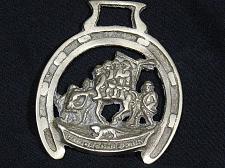 Buy Vintage Horse Brass Medallion Horseshoe Men Riding Horse Dog Harness