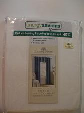 Buy Linden Street Cool White Energy Saving Thermal Cotton Twill Grommet Panel 84 NIP