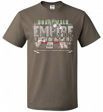 Buy Boardwalk Empire Unisex T-Shirt Pop Culture Graphic Tee (4XL/Safari) Humor Funny Nerd