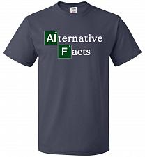 Buy Alternative Chemical Symbol Unisex T-Shirt Pop Culture Graphic Tee (M/J Navy) Humor F