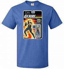 Buy GI KAI Unisex T-Shirt Pop Culture Graphic Tee (XL/Royal) Humor Funny Nerdy Geeky Shir