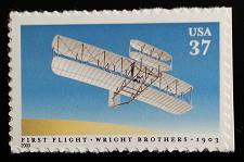 Buy 2003 37c First Controlled Powered Airplane Flight, Wright Scott 3783 Mint VF NH