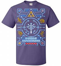 Buy Legend Of Zelda Ugly Sweater Design Adult Unisex T-Shirt Pop Culture Graphic Tee (2XL