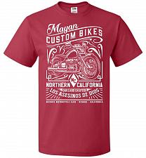 Buy Mayan Custom Bikes Sons Of Anarchy Adult Unisex T-Shirt Pop Culture Graphic Tee (M/Tr