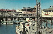 Buy Fisherman's Wharf Tarantino's San Francisco California Postcard