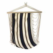 Buy 14974U - Navy Striped Hanging Hammock Chair