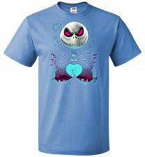 Buy A Night of Love Unisex T-Shirt Pop Culture Graphic Tee (3XL/Columbia Blue) Humor Funn