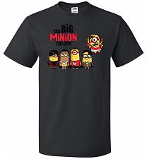 Buy The Big Minion Theory Unisex T-Shirt Pop Culture Graphic Tee (4XL/Black) Humor Funny