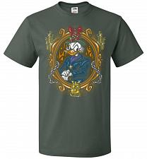 Buy Scrooge McDuck A Miserly Portrait Adult Unisex T-Shirt Pop Culture Graphic Tee (4XL/F