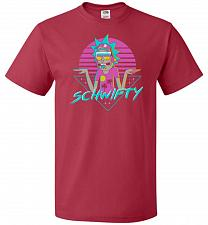 Buy Rad Schwifty Unisex T-Shirt Pop Culture Graphic Tee (XL/True Red) Humor Funny Nerdy G