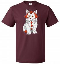 Buy kITten Unisex T-Shirt Pop Culture Graphic Tee (3XL/Maroon) Humor Funny Nerdy Geeky Sh