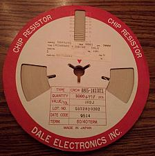 Buy Lot of 4998: Vishay Dale CRCW0805-103JRT1 :: 10K Ohm Resistors