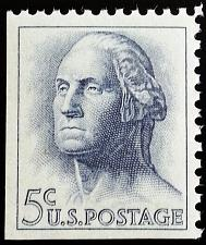 Buy 1962 5c George Washington, Booklet Single Scott 1213a Mint F/VF NH