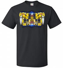 Buy Yellow Ranger Unisex T-Shirt Pop Culture Graphic Tee (2XL/Black) Humor Funny Nerdy Ge