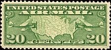 Buy 1927 20c Map of United States & Two Mail Planes Scott C9 Mint F/VF NH
