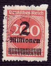 Buy German Used Scott #277 Catalog Value $150.00