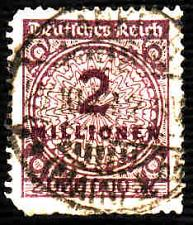 Buy German Used Scott #282 Catalog Value $20.00