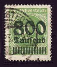 Buy German Used Scott #268 Catalog Value $1.50