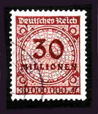 Buy German Used Scott #288 Catalog Value $9.25