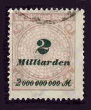 Buy German Used Scott #295 Catalog Value $1.90