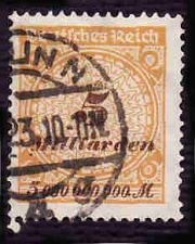 Buy German Used Scott #296 Catalog Value $1.50