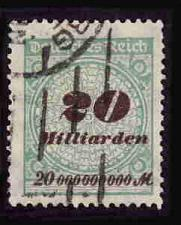 Buy German Used Scott #298 Catalog Value $1.90