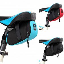 Buy Waterproof Storage Saddle Bag Seat Cycling Tail Rear Color Nylon Bicycle Bag Bike